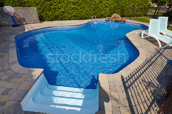 Swimming pool. Stock photo © Kurhan