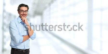 Businessman. Stock photo © Kurhan