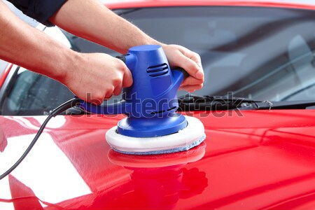 Auto polisher Stock photo © Kurhan