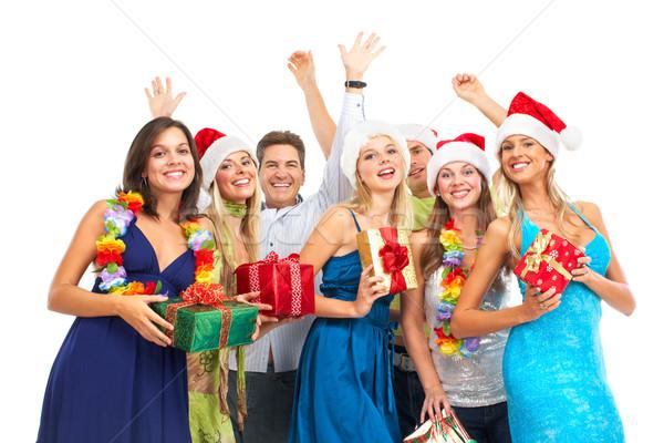 Christmass party Stock photo © Kurhan