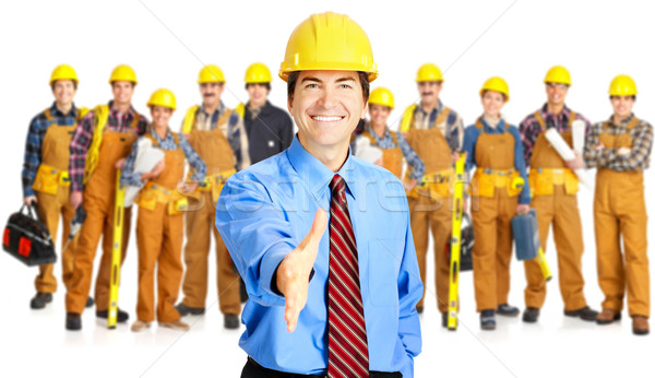 Stock photo: Industrial contractors