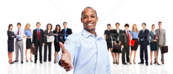 üzleti csapat üzletember csoport munkások emberek üzlet Stock fotó © Kurhan