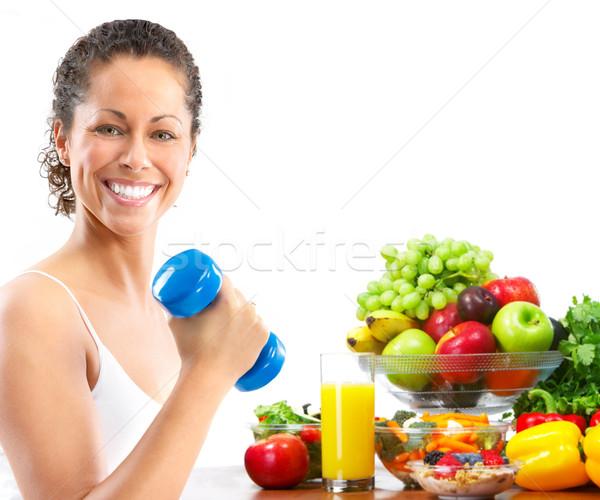 ストックフォト: フィットネス女性 · 女性 · フィットネス · 行使 · 健康