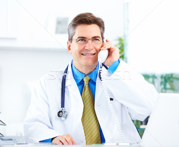 Medical doctor at the hospital. Stock photo © Kurhan