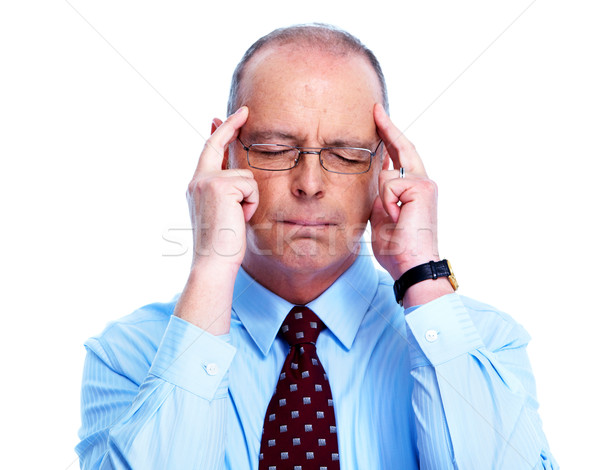 Businessman having a stress. Stock photo © Kurhan