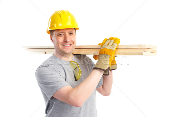 Handsome builder  Stock photo © Kurhan