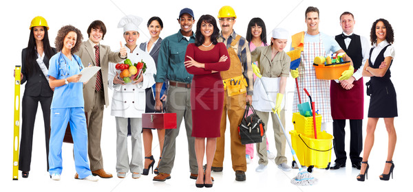 Workers people group. Stock photo © Kurhan