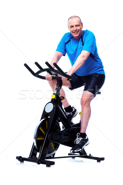 Fitness man. Stock photo © Kurhan
