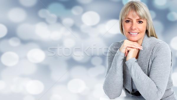 Beautiful casual woman portrait. Stock photo © Kurhan