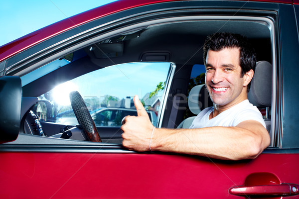 Driving. Stock photo © Kurhan