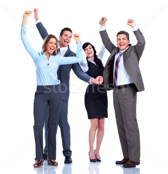 Group of business people. Success. Stock photo © Kurhan