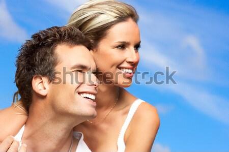 джакузи молодые пару Spa Сток-фото © Kurhan