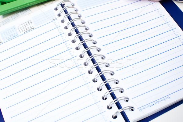 Notebook. Stock photo © Kurhan