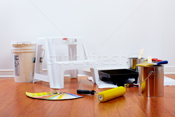 Painting tools. Stock photo © Kurhan