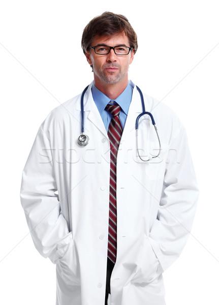 Hospital doctor. Stock photo © Kurhan