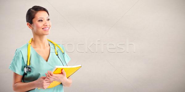 Doctor woman Stock photo © Kurhan