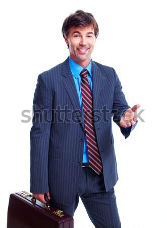 Business man. Stock photo © Kurhan