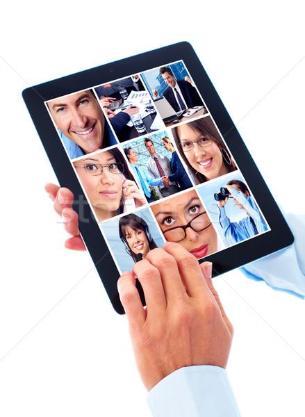 Tablet computer. Stock photo © Kurhan