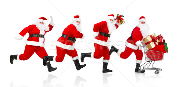 Santa Claus. Stock photo © Kurhan