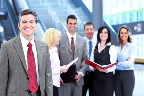 Foto d'archivio: Imprenditore · uomini · d'affari · gruppo · executive · uomo · d'affari · sala