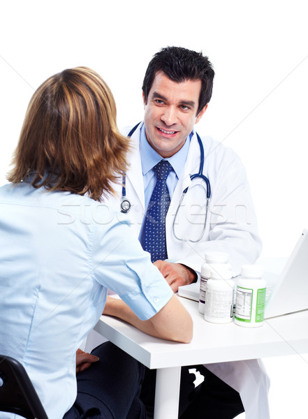 Medical doctor and patient. Stock photo © Kurhan