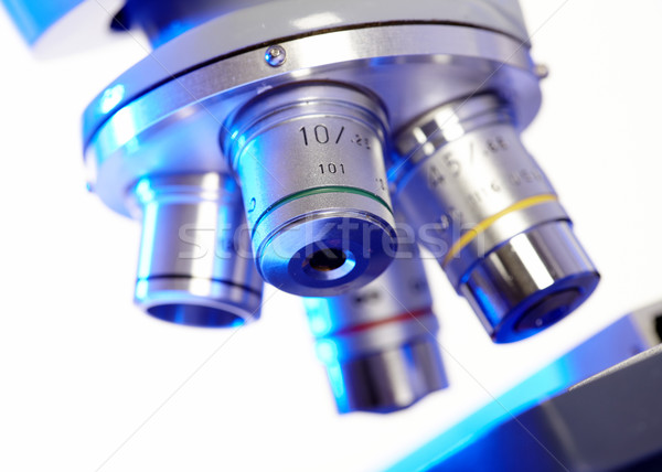 Scientific microscope. Stock photo © Kurhan