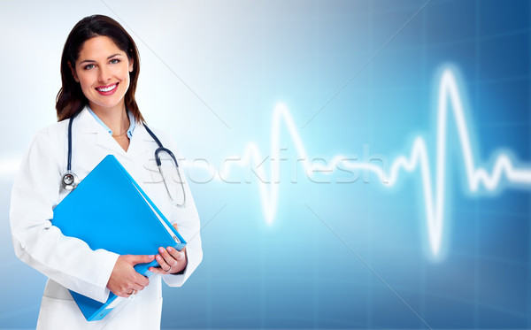 Stock photo: Doctor woman. Health care.