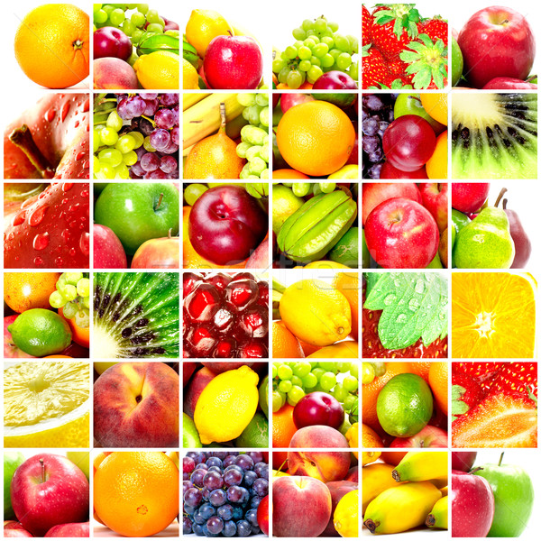 Fresh fruits Stock photo © Kurhan