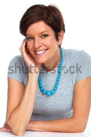 Beautiful mature woman. Stock photo © Kurhan