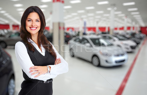 Car dealer. Stock photo © Kurhan