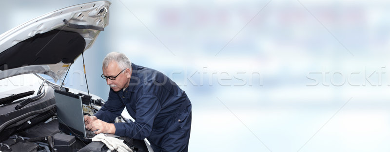 Car mechanic. Stock photo © Kurhan