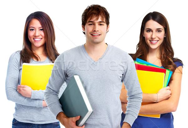 группа студентов молодые улыбаясь образование человека Сток-фото © Kurhan