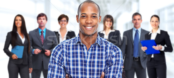 African-american man. Stock photo © Kurhan