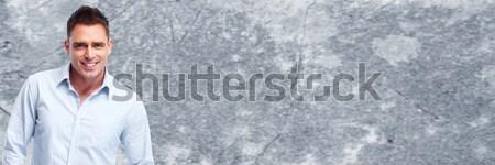 Homme regarder caméra doute visage Photo stock © Kurhan