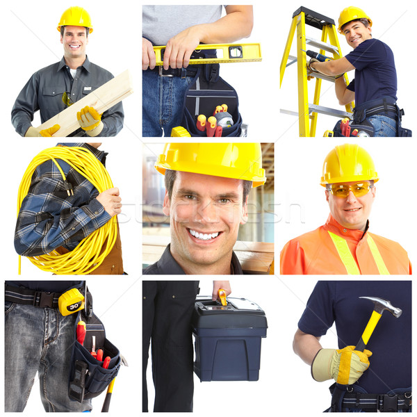 Contractors workers people. Stock photo © Kurhan