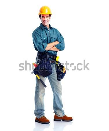 Plumber worker. Stock photo © Kurhan