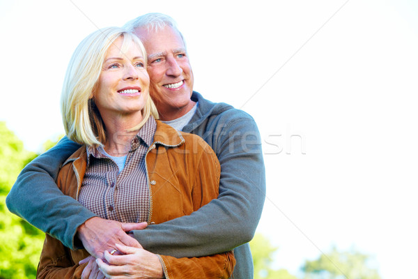 Happy senior couple. Stock photo © Kurhan