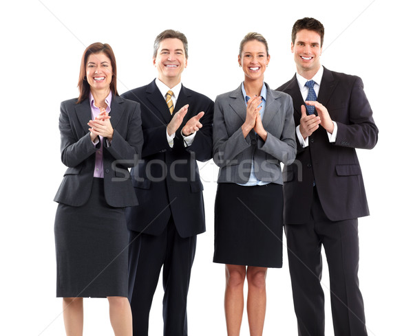 business people team clapping Stock photo © Kurhan