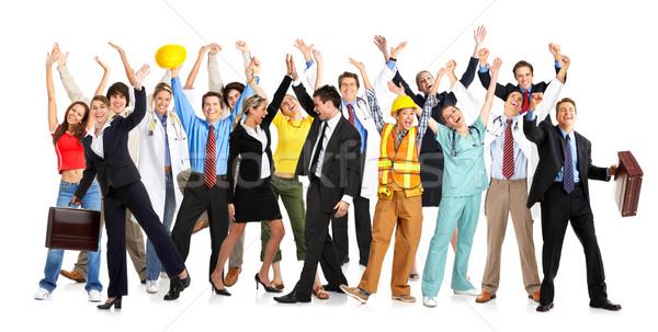 Сток-фото: счастливые · люди · деловые · люди · строители · врачи · архитектора
