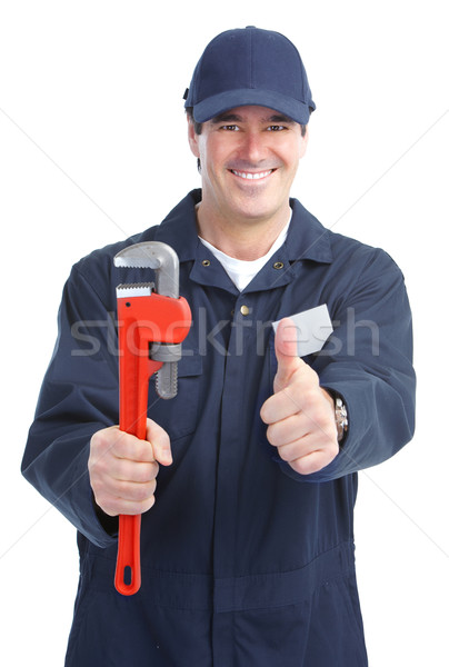 plumber worker Stock photo © Kurhan