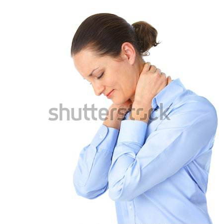 Sick woman Stock photo © Kurhan