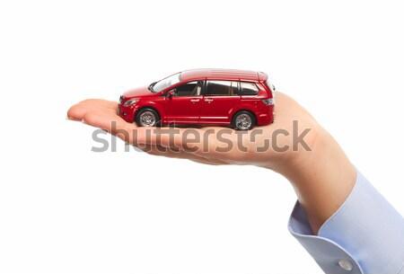 Hand auto auto handel achtergrond Stockfoto © Kurhan