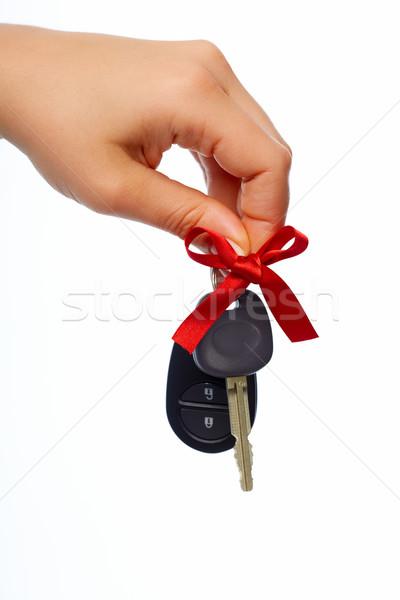 車のキー 自動 レンタル 車 キー ストックフォト © Kurhan