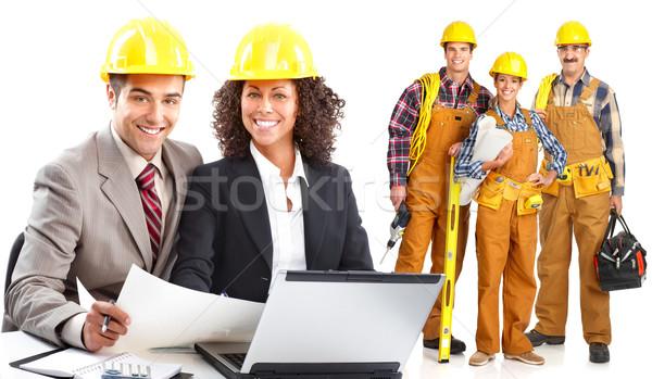 Industrial workers  Stock photo © Kurhan