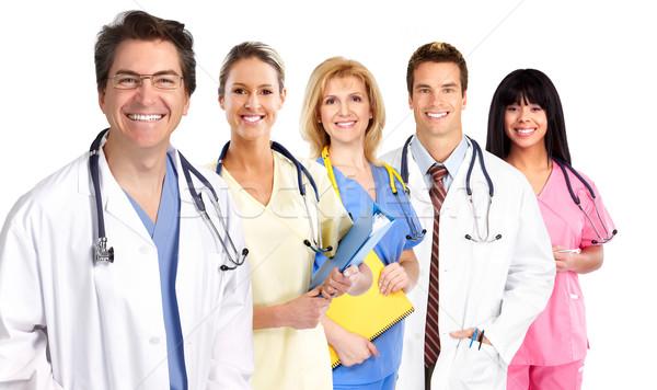 Group of medical doctors . Stock photo © Kurhan
