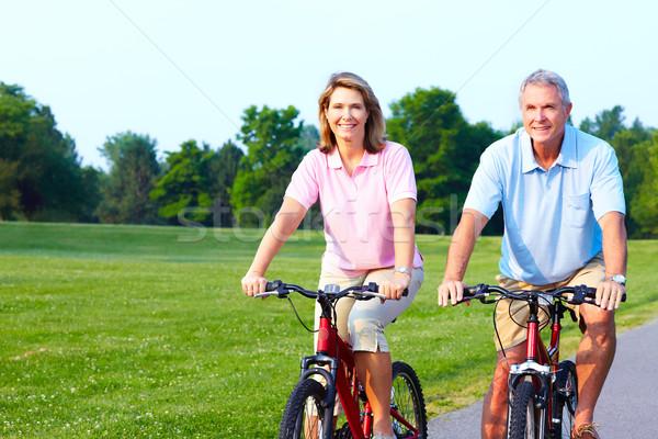 Seniors Stock photo © Kurhan
