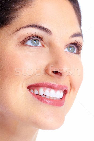 Beautiful woman face. Stock photo © Kurhan