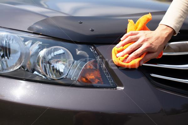 Hand Polishing Car Stock Photo 169 Kurhan 3729905