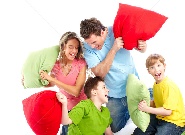 Happy family Stock photo © Kurhan