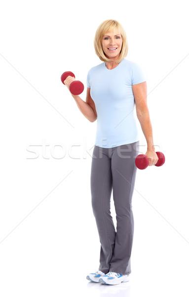 Gym & Fitness Stock photo © Kurhan